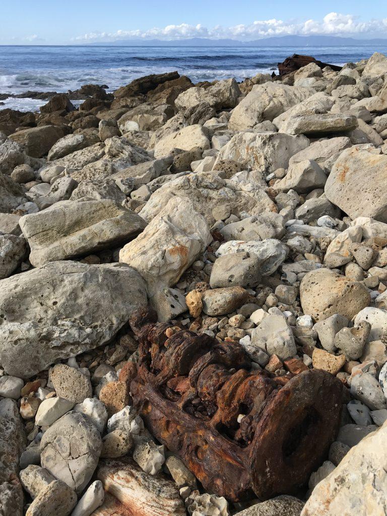 Palos Verdes Hike wreckage